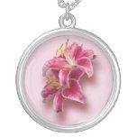Pink Stargazer Lilies Jewelry
