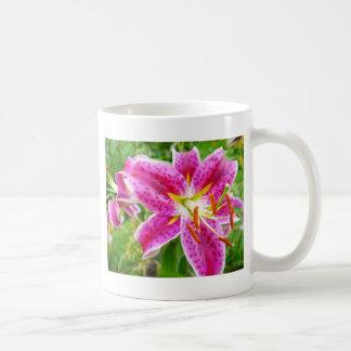 Pink Stargazer Lilly Coffee Mug