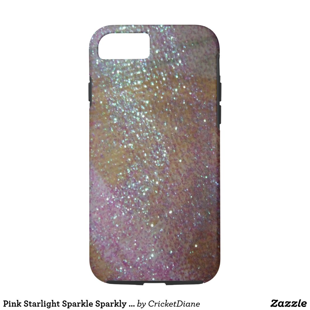 Pink Starlight Sparkle Sparkly iPhone Case