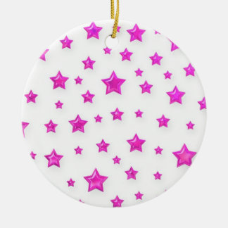 Pink Starry Ornament