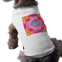 Pink Stars & Bubbles Fractal Pattern Shirt