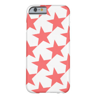 PINK STARS (GEOMETRIC PATTERN) iPhone 6 Case