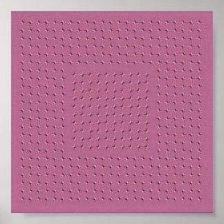 pink stars glitter moves poster