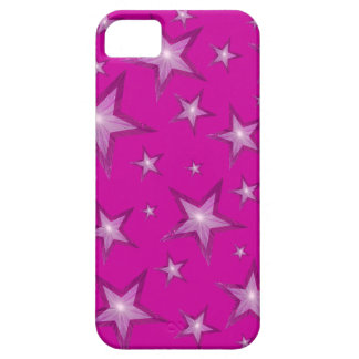 Pink Stars iPhone 5 barely there case