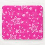 Pink Stars Mousepad