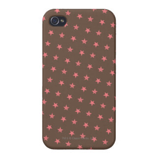 Pink Stars Pattern Case For iPhone 4