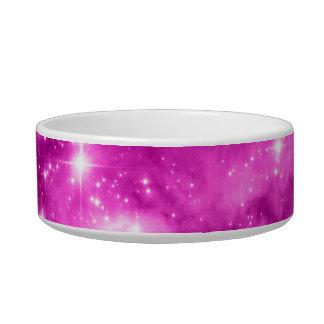 Pink Stars Pet Water Bowl