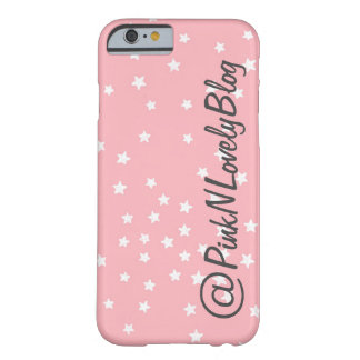 Pink Stars Social Media Iphone 6 Case
