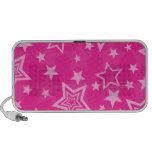 Pink Stars Speaker