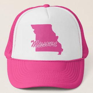 Pink State Missouri Trucker Hat