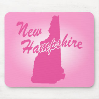 Pink State New Hampshire Mouse Pad