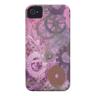 Pink Steampunk iPhone 4 Case-Mate Cases