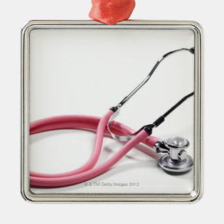 Pink Stethoscope Ornament
