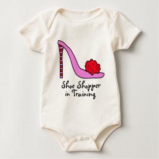 Pink Stiletto High Heel Shoe Bodysuits