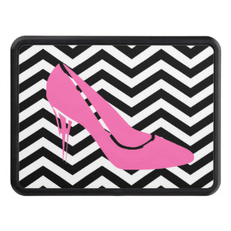 Pink Stiletto Hitch Cover
