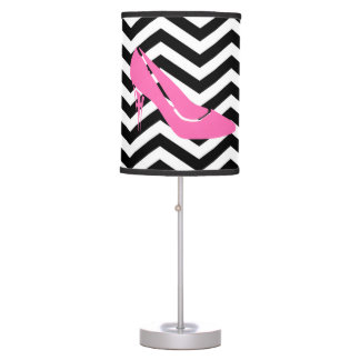 Pink Stiletto Table Lamp