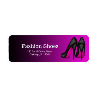 Pink Stilettos Label