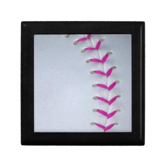 Pink Stitches Baseball / Softball Gift Box