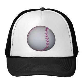 Pink Stitches Softball Trucker Hat