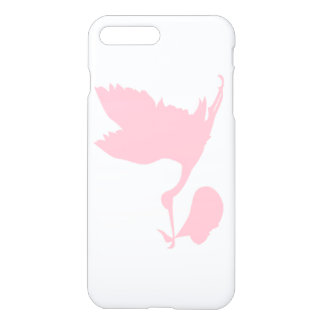 Pink Stork New Baby iPhone 8 Plus/7 Plus Case