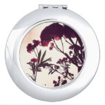 Pink & Stormy by Nature Compact Mirror
