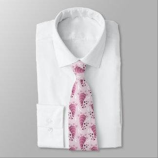 Pink Stormy Love Neck Tie