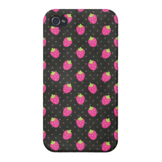 Pink Strawberries Iphone 5 Case Cover