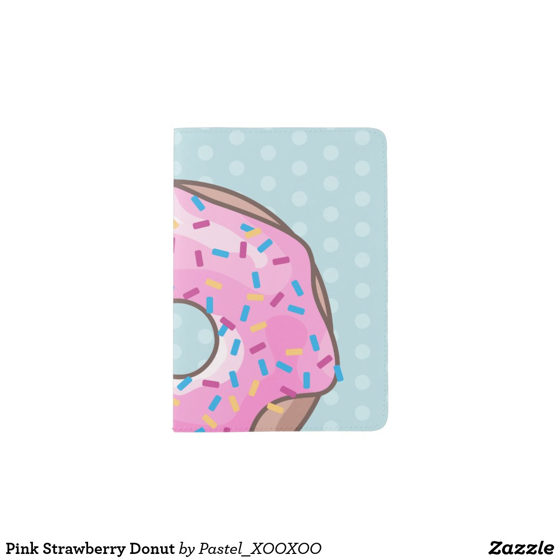 Pink Strawberry Donut