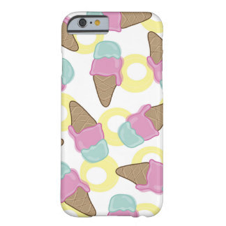 Pink Strawberry Mint Summer Retro Ice Cream Casing Barely There iPhone 6 Case