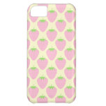 Pink Strawberry Pattern. iPhone 5C Cover
