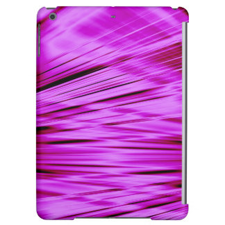 Pink streaked lines pattern case for iPad air