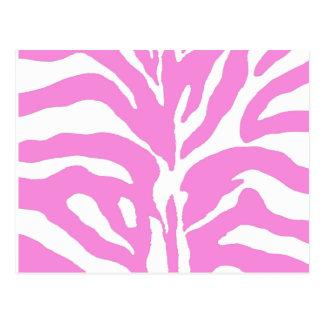 Pink streaked postcard
