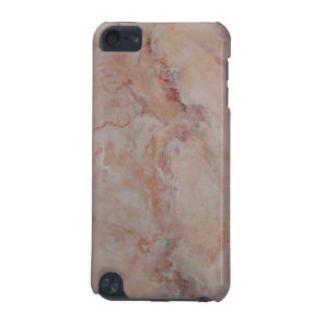 Pink striated marble stone finish iPod touch 5G cover