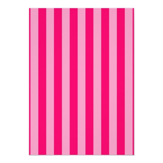 Pink Stripe Background Card