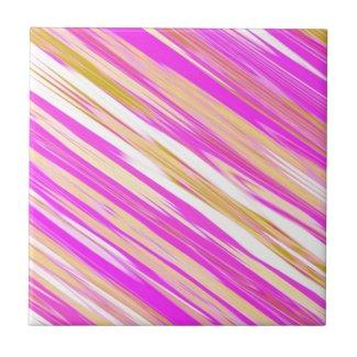 Pink Stripe Design Print