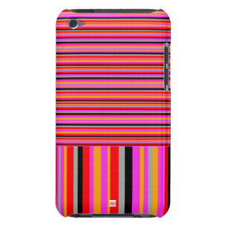 Pink Stripe IPod Touch Case-Mate Case