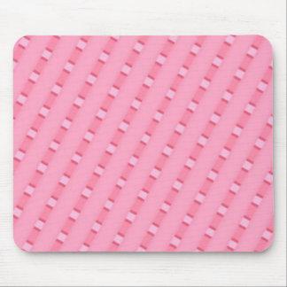 Pink stripe Mousepad