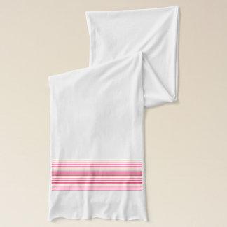 Pink Stripe {scarf} Scarf