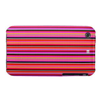 Pink Stripe Thin iPhone 3 Case-Mate Case