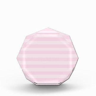 Pink Striped Pattern Award
