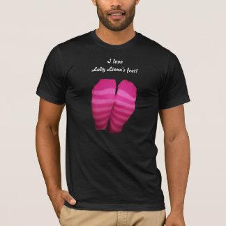 Pink Striped Socks T-Shirt