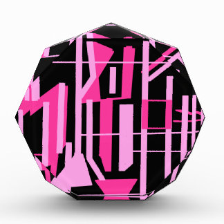Pink stripes and lines design award