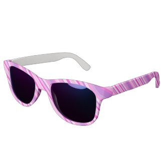pink stripes eyewear