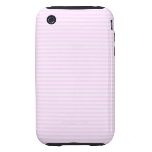 Pink Stripes. iPhone 3 Tough Covers