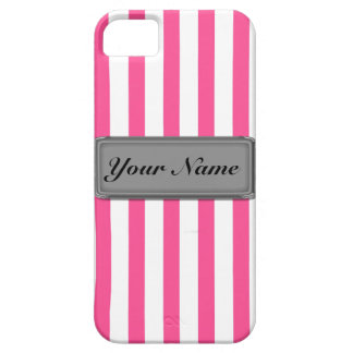 Pink stripes iPhone 5 Case-Mate ID™