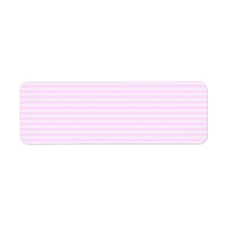 Pink Stripes. Label