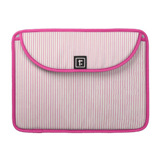 Pink Stripes Sleeve For MacBooks