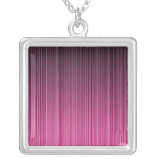 Pink Stripes Necklace