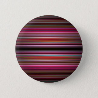 Pink stripes pattern button