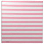 Pink Stripes Pattern Napkins